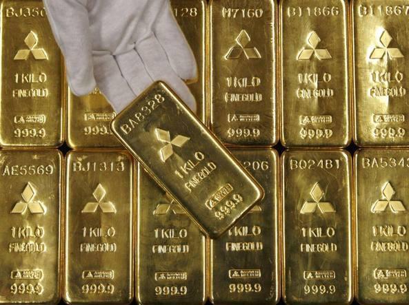 """Giù le mani dall'oro di Bankitalia. Parola di Draghi. Salvini: """"L'oro è di proprietà degli italiani, non di altri"""". Ma ora serve unalegge."""